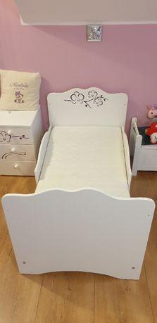 Łóżeczko łóżko dziecięce Meblik Orchidea 140 x 70