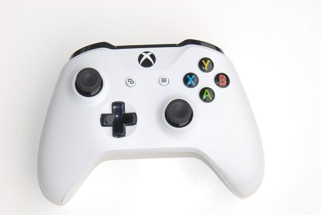 Pad kontroler Biały Xbox One S Bluetooth PC