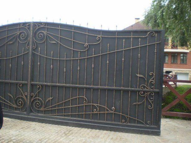 Ворота садовые, ворота гаражные, ворота откаточные, ворота распашные