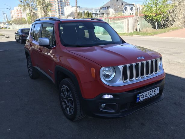 Jeep Renegat Limited 2016