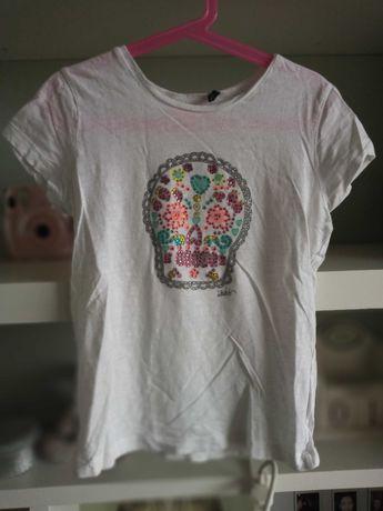 Świetna koszulka dziewczęca KKS r 140