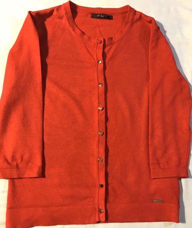 Czerwony sweterek z Mohito