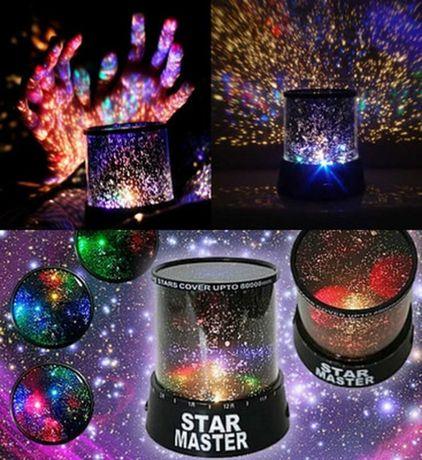 Нічник-проектор Star Master Gizmos Star Projector ночник звёздное небо