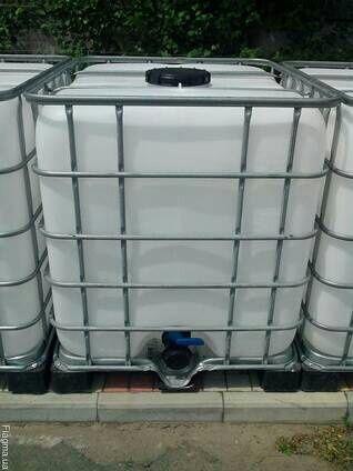 Еврокубы на 1 000 литров.