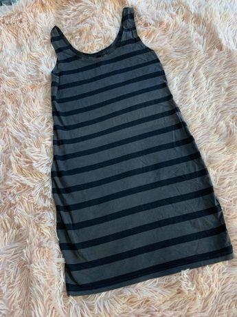 Sukienka dopasowana w paski - H&M - JAK NOWA!