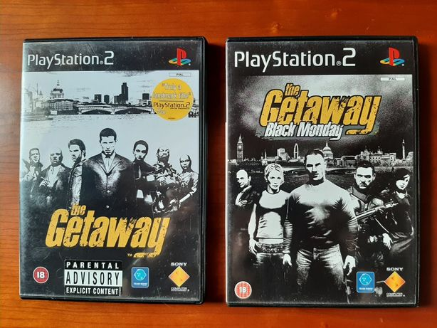 Pack The Getaway (completos) playstation 2