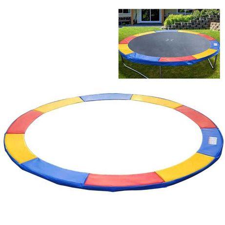 Osłona na sprężyny do trampoliny kolorowa 244 cm