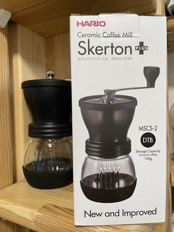 Hario Skerton кофемолка