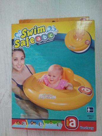 Nowy Fotelik-kółko do pływania dla niemowlaka