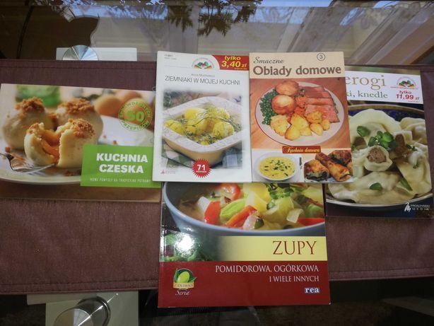 Zestaw książek kulinarnych/ caly komplet