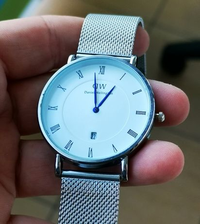 Zegarek Daniel Wellington, DW, nowy, rewelacyjna jakość AAA, srebrny