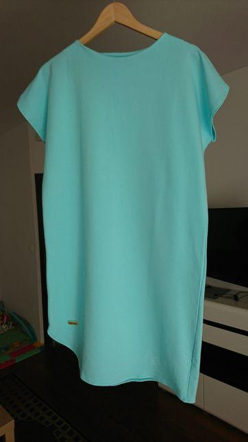 Nowa bawełniana sukienka ciążowa L/XL