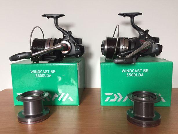 Kołowrotki Daiwa Windcast Br 5500 LDA + 2xSzpula