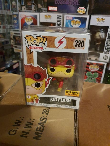 Figurka Funko Pop DC Comics Kid Flash Hot Topic Exclusive