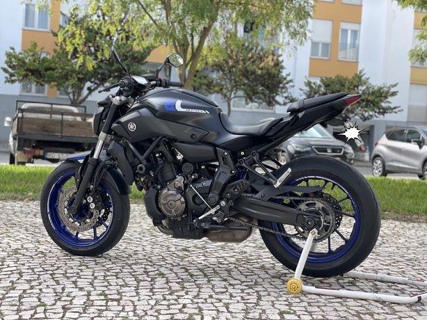 Yamaha Mt 07 35kw 2018
