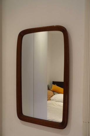 Espelho vintage de Madeira maciça