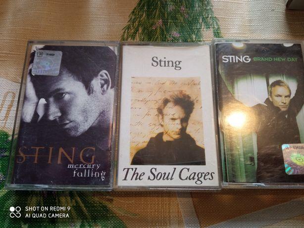 Sting - Trzy kasety magnetofonowe