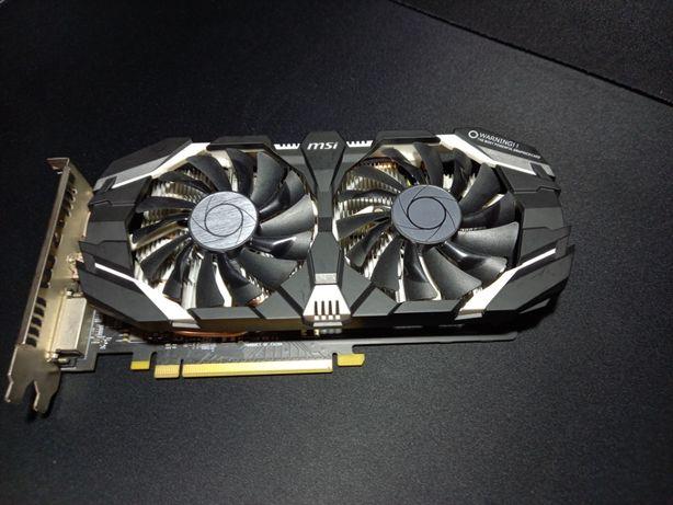 Видеокарта MSI GeForce GTX 1060 6Gb Armor