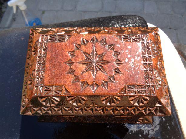 Шкатулка деревяна ручної роботи антикваріат колекціонування
