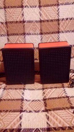Dwa glosniki do gramofonu