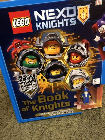 Książka Lego Nexo Knights z figurką