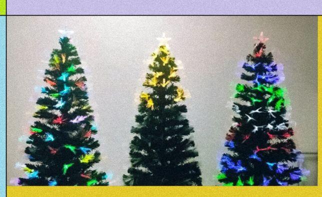 Ёлка сосна искусственная с подсветкой новогодний тренд сезона