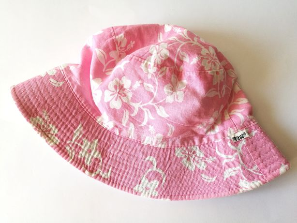 Kapelusik dziewczęcy VANS różowy w kwiatki 8-12 lat ok. 57,5 cm
