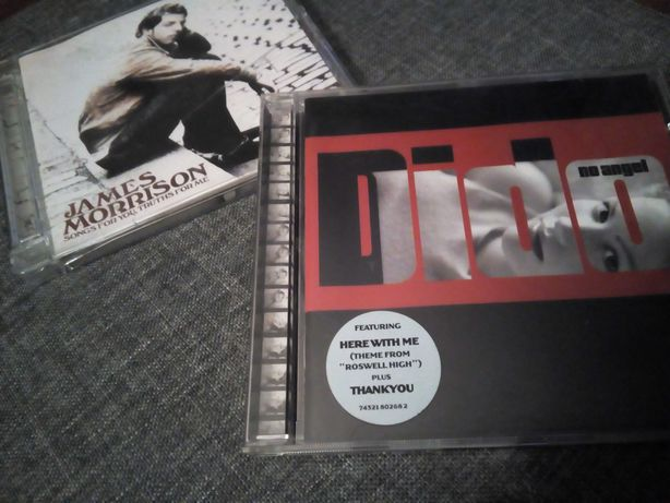 Dido(No Angel) & James Morrison( Songs for you) ( 2 CDs )