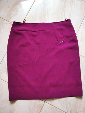 Burgundowa spódnica jak nowa 50
