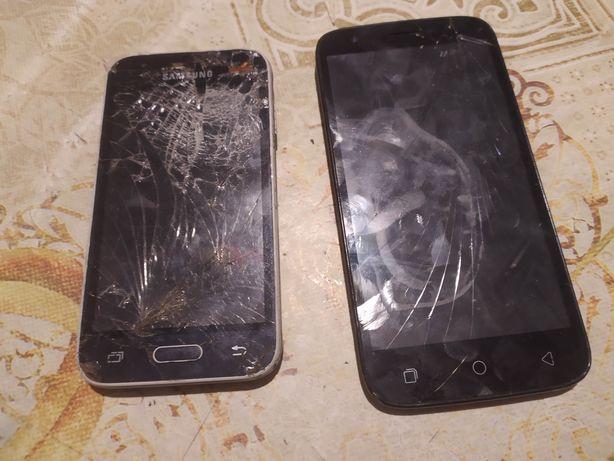 Продам телефоны на запчасти или под востановление