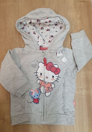 Bluza dresowa Hello Kitty r.74