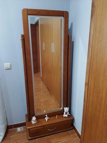 Espelho de Pé, com gaveta