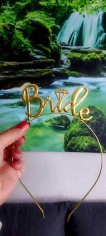 Opaska Bride złota