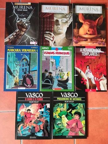 8 Albúns Murena, Arno, Vasco, Máscara Vermelha