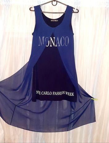 Новое роскошное летнее платье MONACO размер L, 44÷46