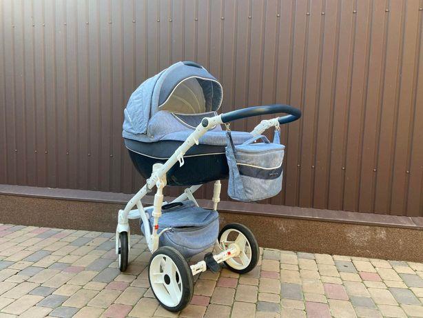 Продам универсальную детскую коляску 2 в 1 Bebe-mobile BIAGIO