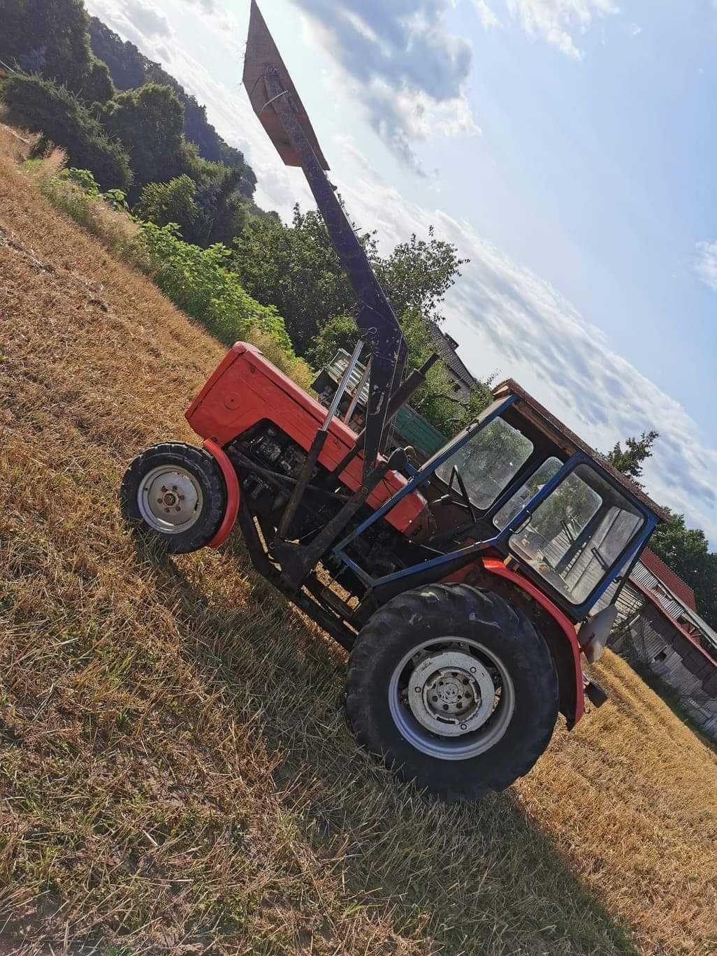 SPRZEDANY ciągnik rolniczy  Ursus c 360 z turem zamiana