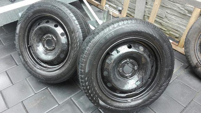 koła stalowe 185/65R15 4x100 et43 Continental renault dacia