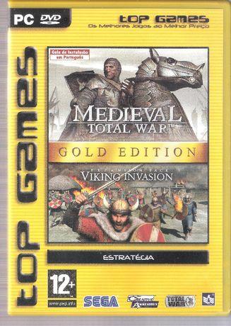 Jogo PC DVD-ROM Mediaval Total War Gold Edition