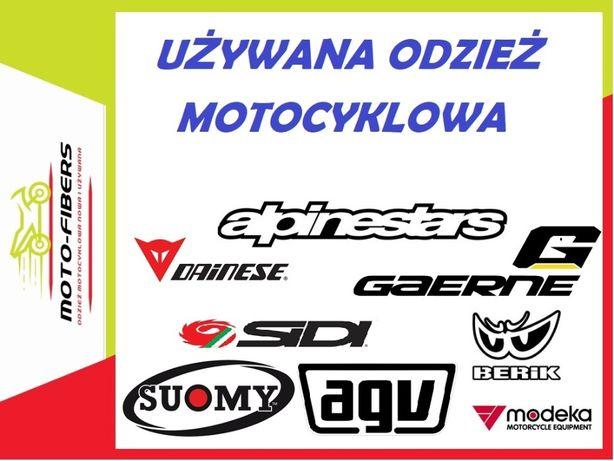 Kombinezon kurtka buty kask rękawice motocyklowe Śląsk i Świętokrz.