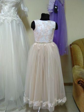 Платье для девочки 5-6 лет,детское платье на выпускной.