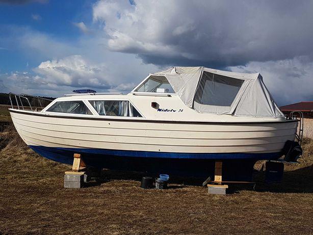 Jacht motorowy łódź kabinowa Nidelv 24