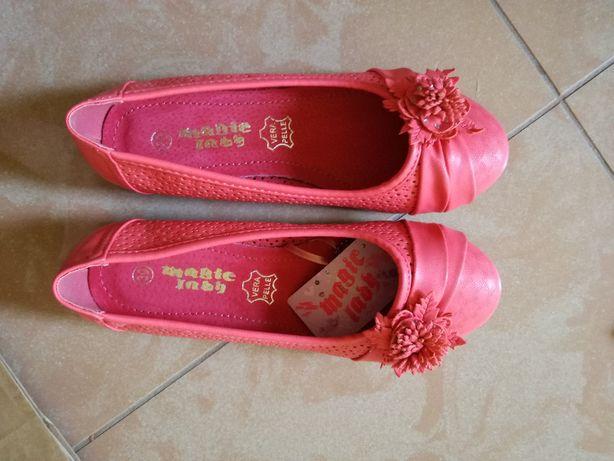 pantofelki dziewczęce rozmiar 30