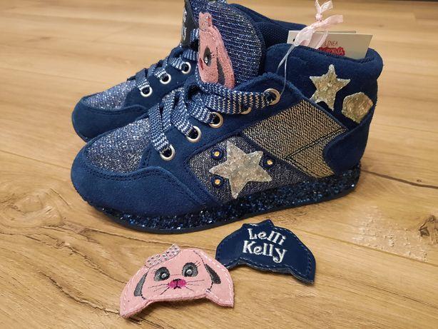 Новые ботиночки-кроссовки Lelli Kelly 27 размер.