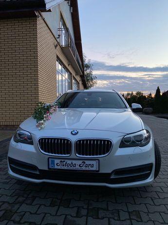 Auto do ślubu BMW 525 xDrive