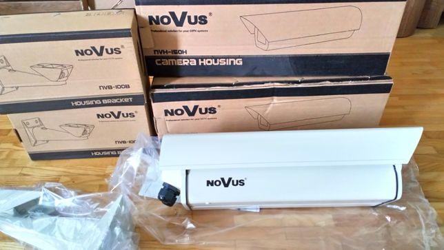 Dwie obudowy zewnętrzne kamer z mocowaniem nvh-150h novus