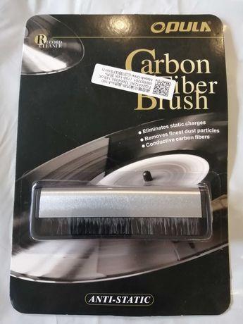 Антистатическая карбоновая щетка для виниловых пластинок