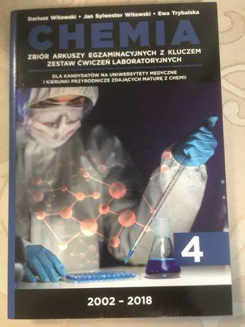 Chemia zbiór arkuszy egzaminacyjnych z kluczem