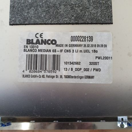 Blanco Median 6S-IF