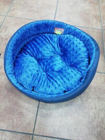 Legowisko dla psa, kota, królika, niebieskie. Małe Zoo Roosevelta